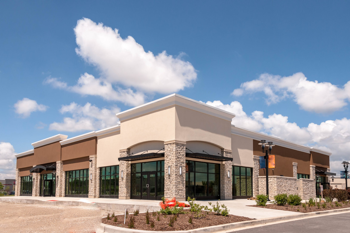 commercial real estate strip center